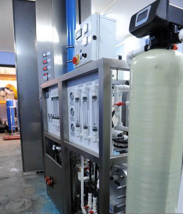 Urządzenie do procesów membranowych