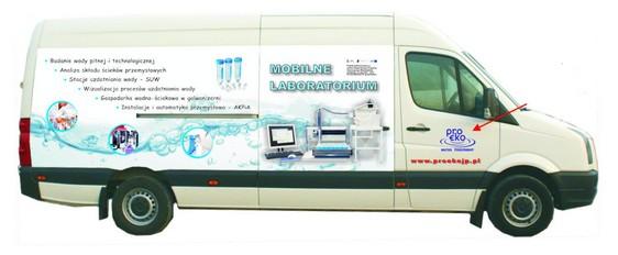 Mobilne laboratorium badania wody i ścieków