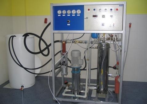 Urządzenie do TESTOWANIA o wydajności  150 do 1500 l/h