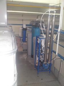 Odwrócona osmoza serii RO wydajność 250 l/h