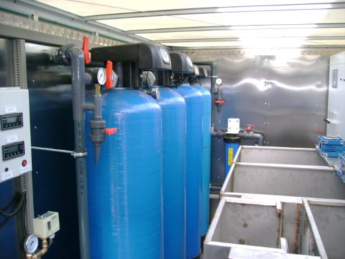 Mobilna stacja uzdatniania wody