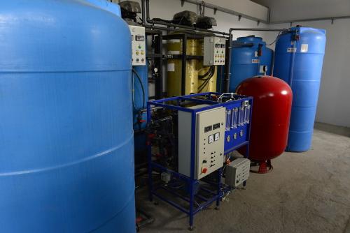 Linia badania i oczyszczania ścieków i ponowne wykorzystanie uzdatnionej wody