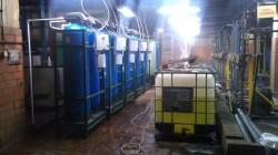 Demineralizator o wydajności 20 m3 / h - praca ciągła