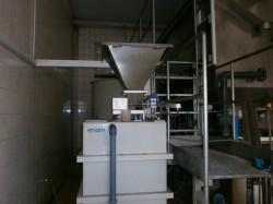 Flokulator z automatycznym podawaniem
