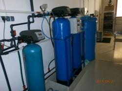 Demineralizator o wydajności 0,5 m3 / h