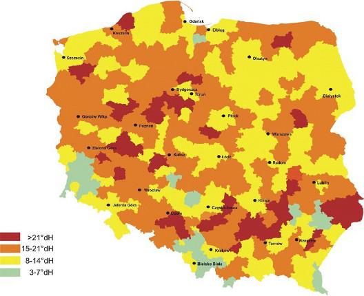 Twarda woda w Polsce