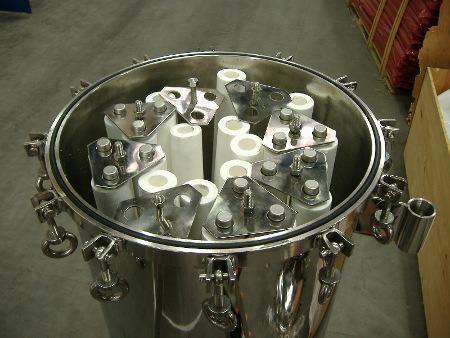 filtr mechaniczny ze stali nierdzewnej